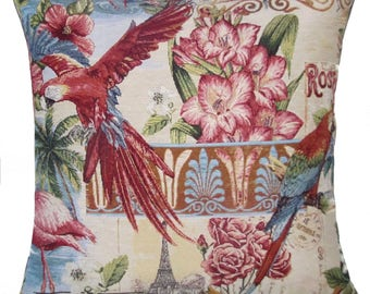 Bird Tapestry Pillows