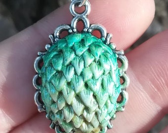 Dragon Egg Necklace Pendant