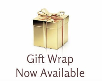 Add Gift Wrap to Your Order - Vintage Style Wraps For all Occasions