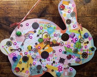 Drôle Steampunk Easter Bunny (EAS7)