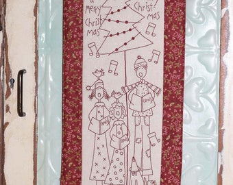 The Carolers by The Birdhouse pattern only