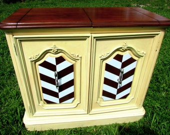 Redecorated Vintage Buffet (French Country)
