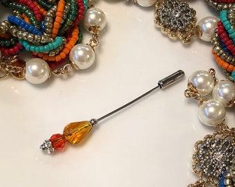 Scarf pin hijab stick pin