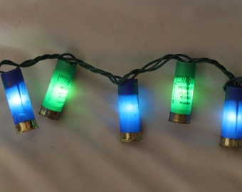 Seahawk Shotgun Shell Party Lights- Set of 50 LED lights (13.5 feet total).