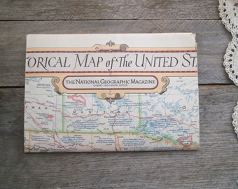 Domestic Shipping Fees For Sold Item +++ Historical Map