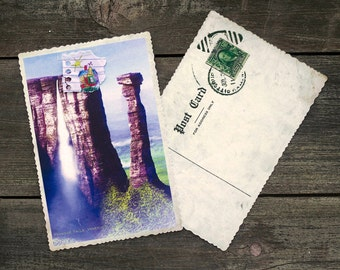 Up Movie Paradise Falls Postcard