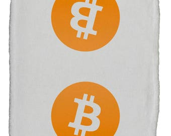 Bitcoin Be Different Super Soft 8 x 12 Inch Hand Towel