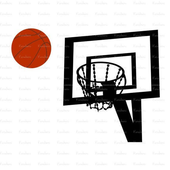 Basketball svg files basketball hoop svg basketball game for Basketball court cost estimate
