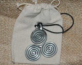 Celtic Triskele Pendant - Scottish Gifts