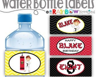 WBW-402: DIY - Karate 2 Water Bottle Wrappers