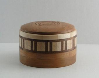 Lidded Segmented Bowl