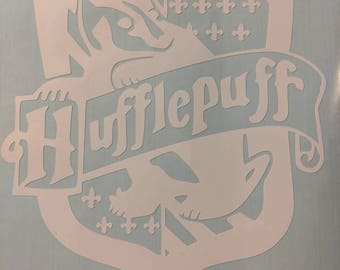 Harry Potter Hufflepuff House Crest Sticker/Decal