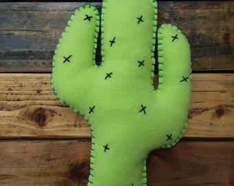 Cactus Plush Pillow