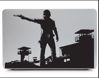 Rick Grimes-Walking Dead Prison protector wall graphic/decal