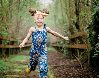 Boho Jumpsuit Romper, Floral Baby Clothes, Toddler Romper, One Piece, Baby Rompers, Kids Clothing, Girls  Romper