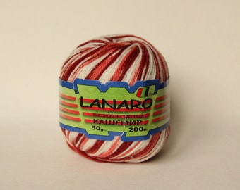 Yarn Lanaro artificial cashmere 50 g