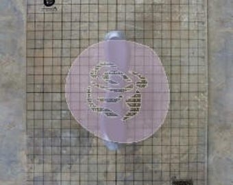Acrylic Stamp Block  Extra Large by PRIMA IOD