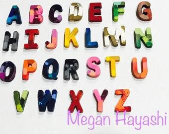 Alphabet crayon set/letter crayon set/