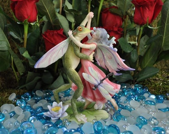 Fairy Dancing With Frog Prince