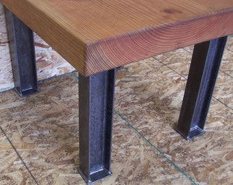 Industrial Desk Or Dining Table Legs Heavy Structural Steel