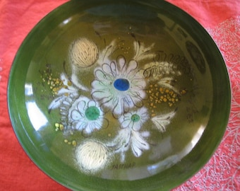 Sasha B Enameled Footed Bowl