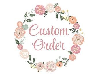 Custom Medium Size Bow Order
