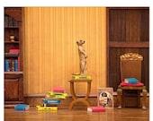 30% OFF SALE Meerkat cute animal print for bookworms: Meerkat Den