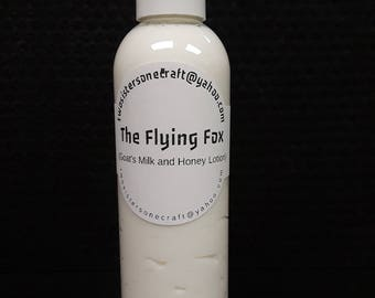 The Flying Fox Goats Milk and Honey Lotion for Men - 8oz
