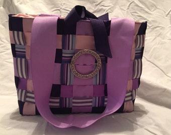Handmade woven rippon purse