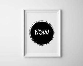 mediation wall art , yoga studio decor , printable zen , mindfulness print ,  Scandinavian poster , Nordic print