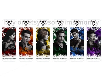 Shadowhunters (The Mortal Instruments) Bookmarks