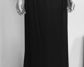 Vintage size 6 long skirt