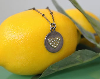 Love with a Heart Necklace