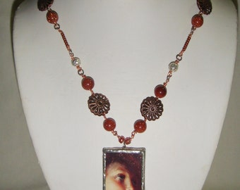 Hope Angel Necklace in Copper inv55