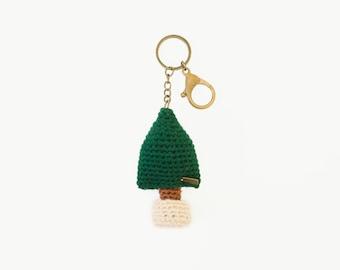 Keychain the Tiny Tree / the Crochet Keyring/ Accressies.
