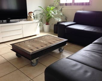 coffee table original industrial style