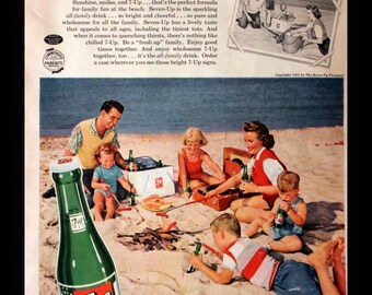 1951 7 UP Ad
