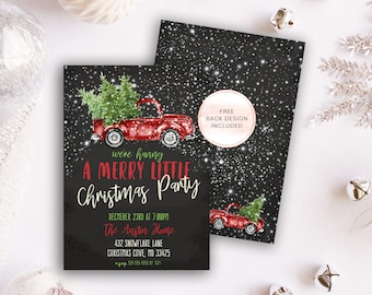 Christmas Party Invites, Christmas Party Invitation, Vintage Christmas Invites, Holiday Invitations, Christmas, Christmas Party, Vintage 101