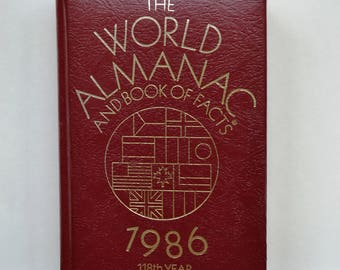 1986 World Almanac and Book of Facts - 118th Year - Special Edition