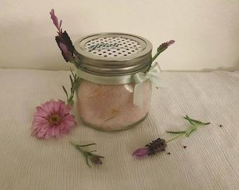 8oz Lavender Lemon Bath Salts