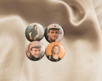"Mac Demarco 1"" Buttons - Pack of 4"