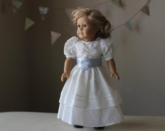 "Titanic Era Afternoon Dress for 18"" American Girl Dolls"