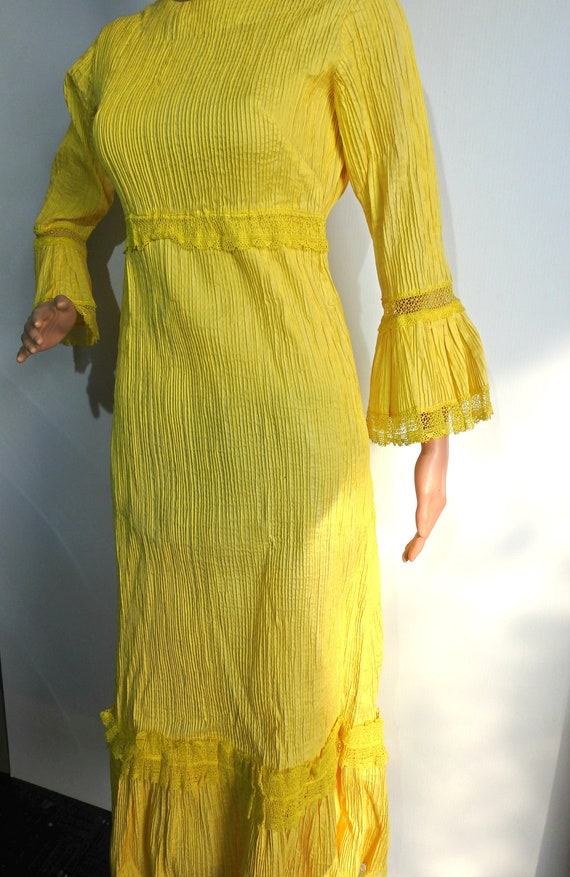 Yellow Wedding Dress from Mexico
