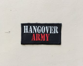 Hangover Army Sew On Patch