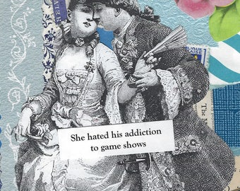 Game Show Addiction Collage