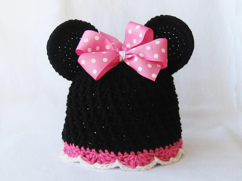 CROCHET PATTERN Minnie Mouse Hat crochet hat crochet