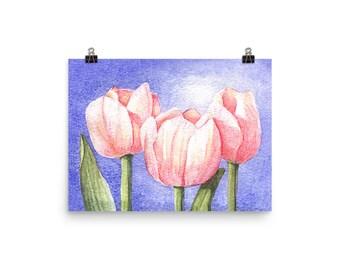 Tulip Trio Print