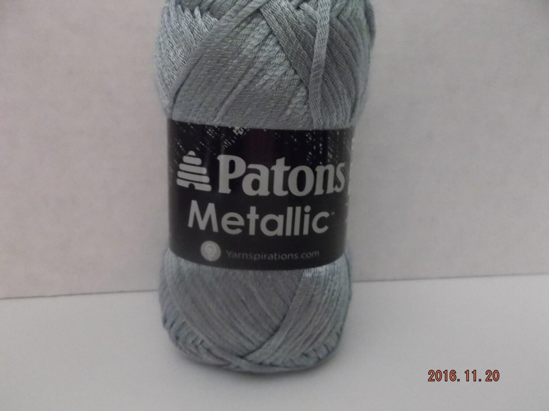 Patons Metallic Yarn ~ Sea Breeze ~ 85 Grams/3.0 oz ~ 252 Yards ~ #4 ...