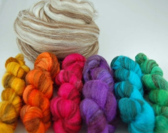 Swirl Rainbow- 6 colors total each at one oz