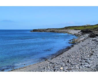 "Fine Art Color Photography of Aran Islands Beach Landscape off the Coast of Ireland ""Inishmore Beach"""
